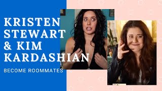 KRISTEN STEWART asks KIM KARDASHIAN  for Water