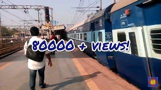 12534 - MUMBAI CST - LUCKNOW PUSHPAK EXPRESS SKIPS THANE