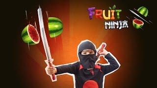 Fruit Ninja Real Life Video Game Challenge Fun