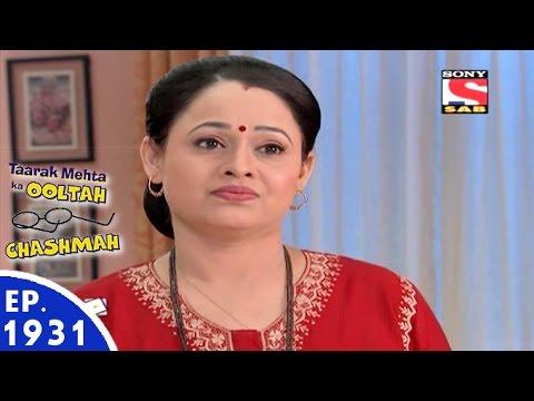 Taarak Mehta Ka Ooltah Chashmah - तारक मेहता - Episode 1931 - 6th May, 2016