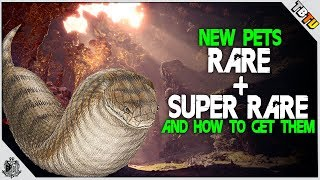 HOW TO GET ALL Rare + SUPER RARE TSUCHINOKO Kulve Taroth Pets! Monster Hunter World Event