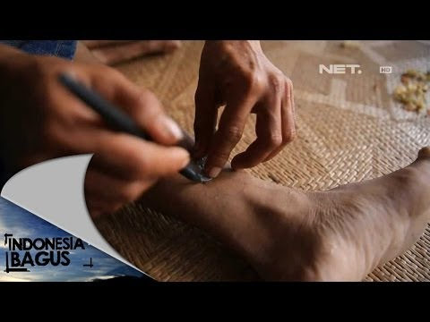 NET17 Tradisi membuat tatto suku Dayak Iban