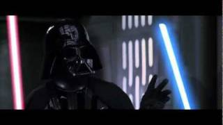 Kinect Star Wars Funny Duel with Darth Vader