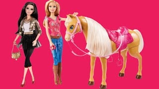 Barbie Life In The DreamHouse 2016 Mini Movie – New English Episode Full Of Dolls Toys, Tawny, Ken!