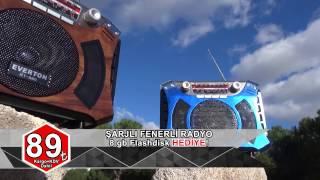 Şarjlı Fenerli Radyo 89tl 7dk