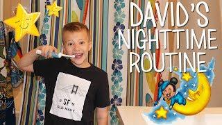 David's Nighttime Routine