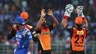 IPL 2016| Mumbai Indians vs Sunrisers Hyderabad| Sunrisers Hyderabad Spank Mumbai Indians By 85 Runs