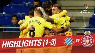 Highlights RCD Espanyol vs Girona FC (1-3)