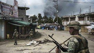CGTN goes inside the war zone in Marawi
