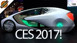 CES 2017: 5G, 4K TVs, 2TB USB Drive, Kuri Home Robot, Norton Core, & Too Many Self Driving Cars!