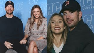 chrizzie - funny chris evans and elizabeth olsen moments