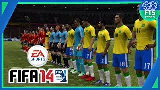 Como baixar e instalar ★ FIFA 14 ★ #BEM EXPLICADO (sem root) 2016 part. Hobby Games Br