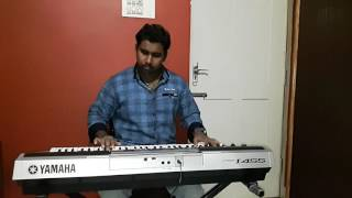 Keyboard cover of the kannada song