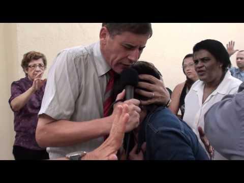 PASTOR SERGIO SORA LIBERTAÇAO DA IRMA ELVIRA