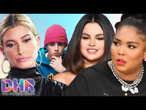 Hailey Bieber DRAGGED By Selena Gomez Fans After Tweet Lizzo Gets Fat Shamed Again DHR