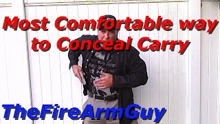 The Most Comfortable Way to Conceal Carry a Handgun - TheFireArmGuy