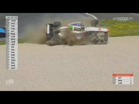 Xxx Mp4 GP3 Series 2017 Race 2 Red Bull Ring Dorian Boccolacci Crash Rolls 3gp Sex