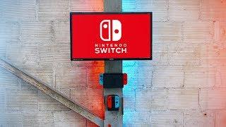 Nintendo Switch Gaming Setup | Wall Mount DIY
