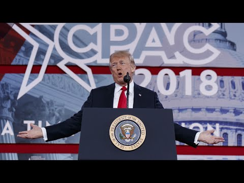 Xxx Mp4 The Strangest Moments From Donald Trump S CPAC 2018 Speech 3gp Sex