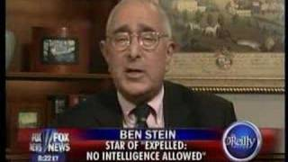 Bill O'Reilly and Ben Stein Question Evolution