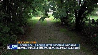 Lorain Police arrest fake cop with pellet gun