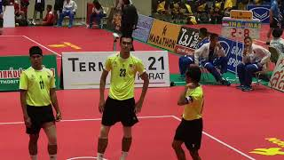 Sepak Takraw | 32nd King's Cup 2017 | Men's Regu Event - Final | Malaysia VS Indonesia - set 2