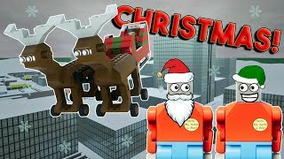 LEGO CHRISTMAS GONE WRONG! -  Brick Rigs Multiplayer Roleplay & Gameplay Challenge