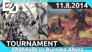 Shaddoll vs Burning Abyss Post NECH Brother's Grim Games Local Tournament 11.8.2014