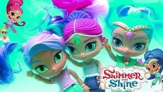 Bonecas Sereias Shimmer e Shine que Mudam de Cor Nadando com Bonecas Barbie ToysBR