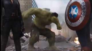 Imagine Dragons Monster Avengers Hulk (Music Video)