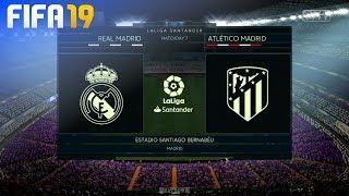 FIFA 19 - Real Madrid vs. Atlético Madrid @ Estadio Santiago Bernabéu
