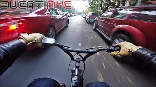 Riding PrometheanLiver's Ebike in NYC (Lower East Side) v587