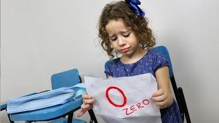 Valentina tira zero na prova - Continue a História 01