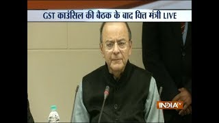 GST Council meet: Rates of 29 goods, 49 services revised, says Arun Jaitley