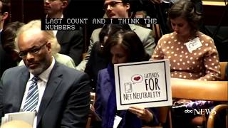 FCC net neutrality vote: Commission votes to repeal net neutrality rules (FULL)   ABC News