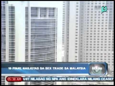 Xxx Mp4 Balitaan 10 Pinay Nailigtas Sa Sex Trade Sa Malaysia Jan 03 2014 3gp Sex