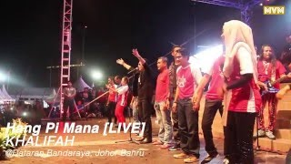 Khalifah - Hang Pi Mana Live @ Pentas Best FM JB