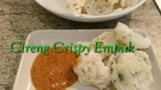 Cara membuat Cireng ... Garing .. Crispy di luar Empuk di dalam :-)