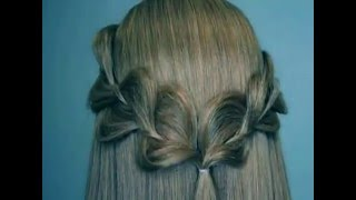 Rick Rack Braid - Easy Hairstyles - Wedding hairstyles for Medium to Long Hair