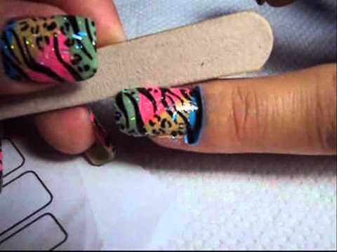 Tutorial Nail 3 Como Aplicar Adesivo Artesanal de Unha