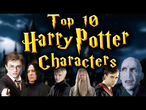 My Top 10 Harry Potter Characters