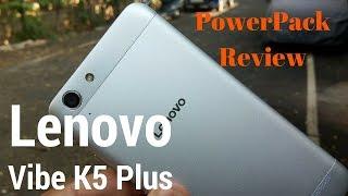 [Hindi - हिन्दी] Lenovo Vibe K5 Plus Powerpack Review