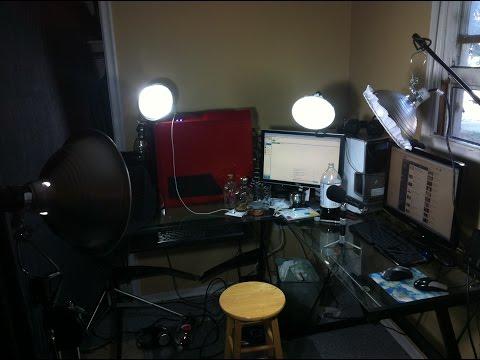 Cheap Webcam Lighting