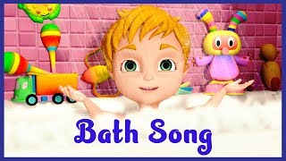 Bath Song Learn Body Parts for Babies Bathing Song For Kids Body Parts Song For Children 🛀