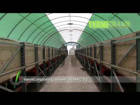 The advanced vermi composting facility VERMIC 3.2 HD