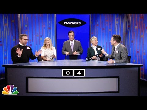 Password with Ellen DeGeneres Steve Carell and Reese Witherspoon