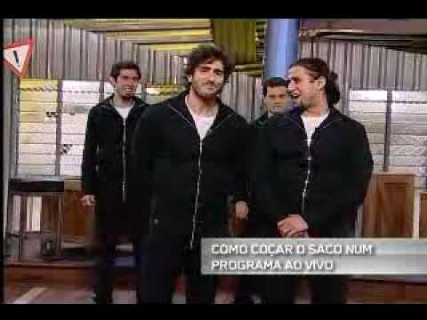 Quinta Categoria MTV Frases Como Coçar o Saco Num Programa Ao Vivo 9 07 2009