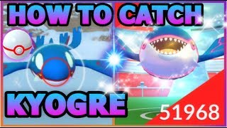 HOW TO CATCH KYOGRE IN POKEMON GO   3 LEGENDARY KYOGRE RAIDS