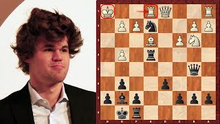 Is Magnus Carlsen the Greatest Chess Player of all Time?! vs Hammer 2003 : Anastasia's Mate