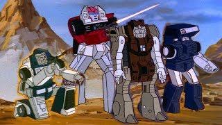 Transformers G1 Cartoon 1986 Mini-Vehicles All Scenes (No Wheelie)